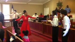 Sons of Judah Mime Ministry ministering to Broken by Shekinah Glory Ministry x264 001