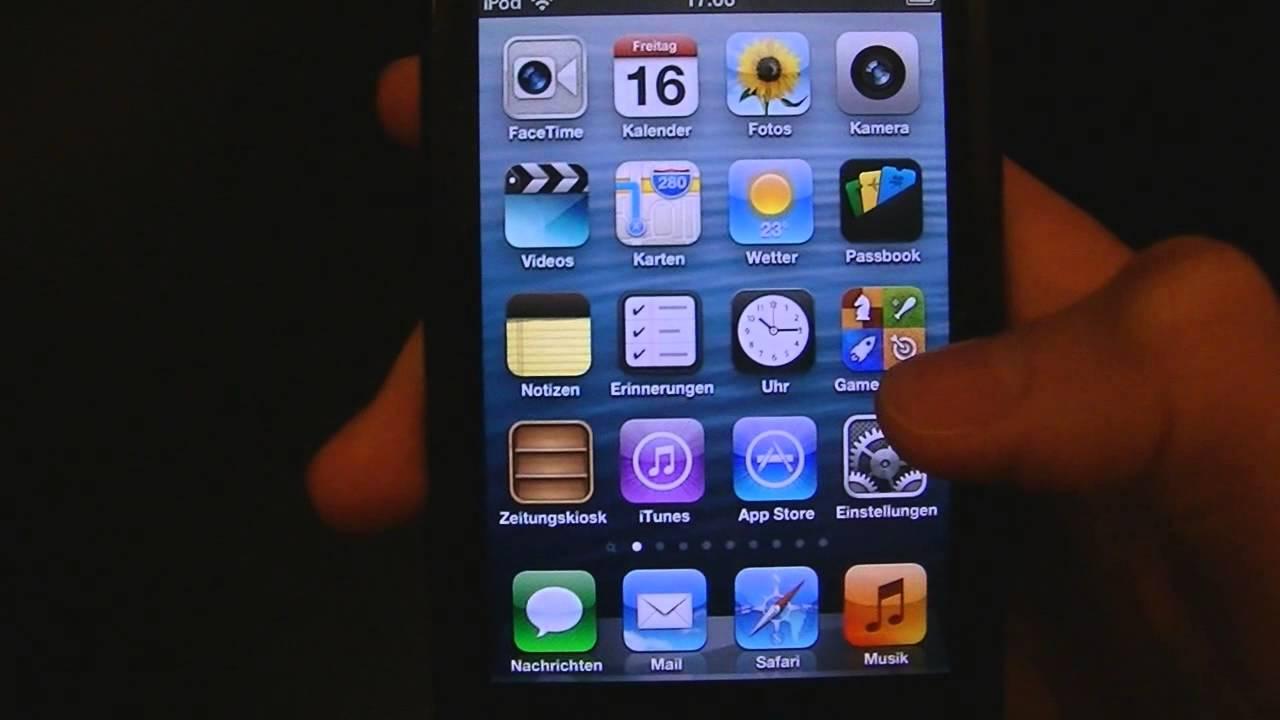 vorinstallierte apple apps l schen ohne jailbreak iphone. Black Bedroom Furniture Sets. Home Design Ideas
