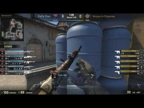 FaZe NiKo GODLY 4K SPRAYDOWN vs NIP Inferno [ ECS EUROPE ]