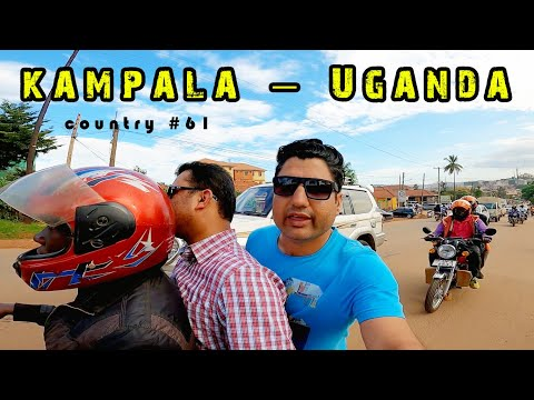 Kampala Uganda Travel Vlog | City Tour of Kampala in Uganda