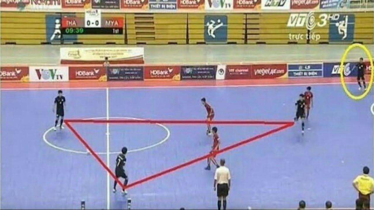 Strategi Tim Futsal Dengan Cara Full Pressing Lawan Youtube