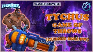 Grubby   Heroes of the Storm - Tychus - Game of Throws - HL 2018 S1 - Cursed Hollow
