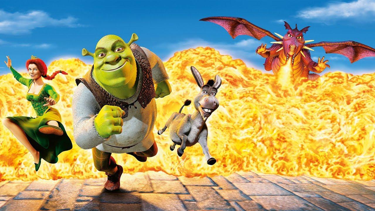 Shrek (Series) (1,2,4) (1080p) (Dual Audio) By Ting Tong Movies