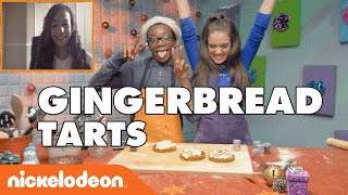 Gingerbread Tarts W/ Angelic  | Nick
