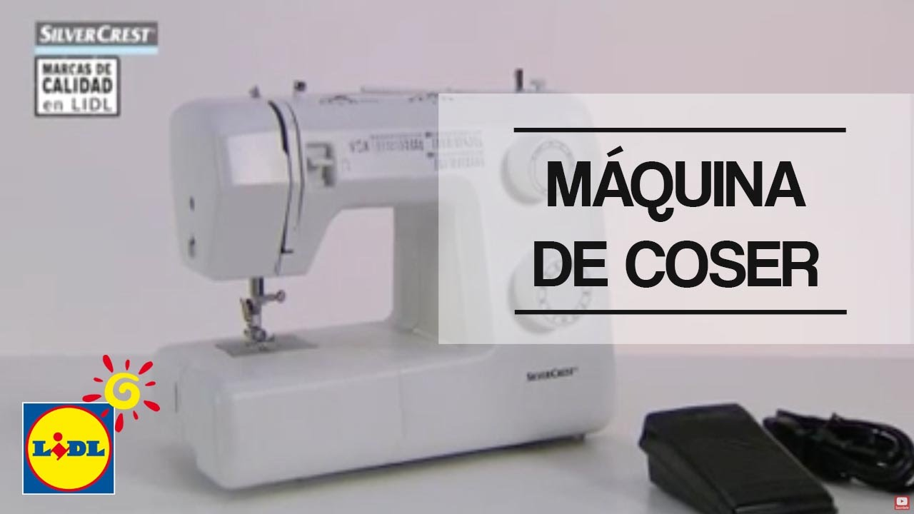 Máquina de coser - Lidl España - YouTube