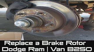 For 2014 2015-2017 Dodge Ram Promaster 1500 2500 3500 Front /& Rear Brake Rotors