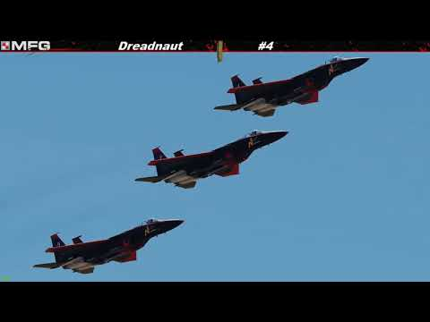 Mighty 8th Virtual Jet Demonstration Team - Practice 4/8/2018