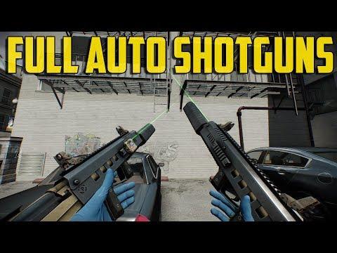 Payday 2 VR - Full Auto Shotguns