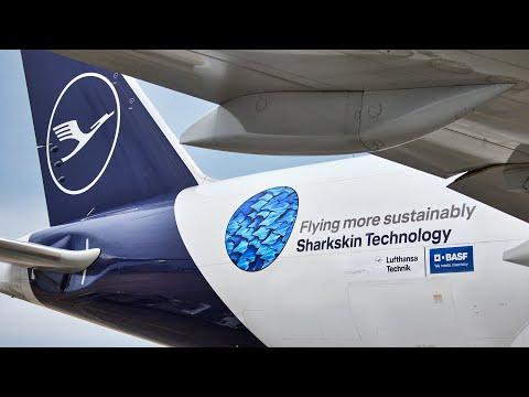 AeroSHARK - Cutting emissions with sharkskin technology