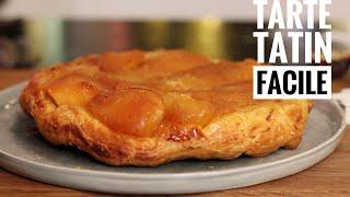 La recette facile de Tarte Tatin aux pommes caramélisées