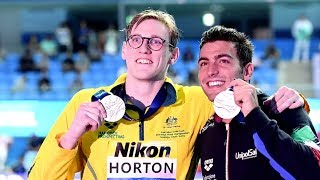 Swimmer Horton 'disappointed' at teammate's positive doping test