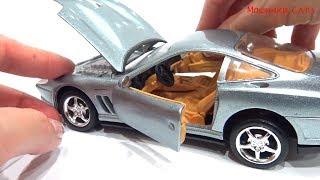 Машинки Cars про машинки Ferrari Сборка машинки toys for kids