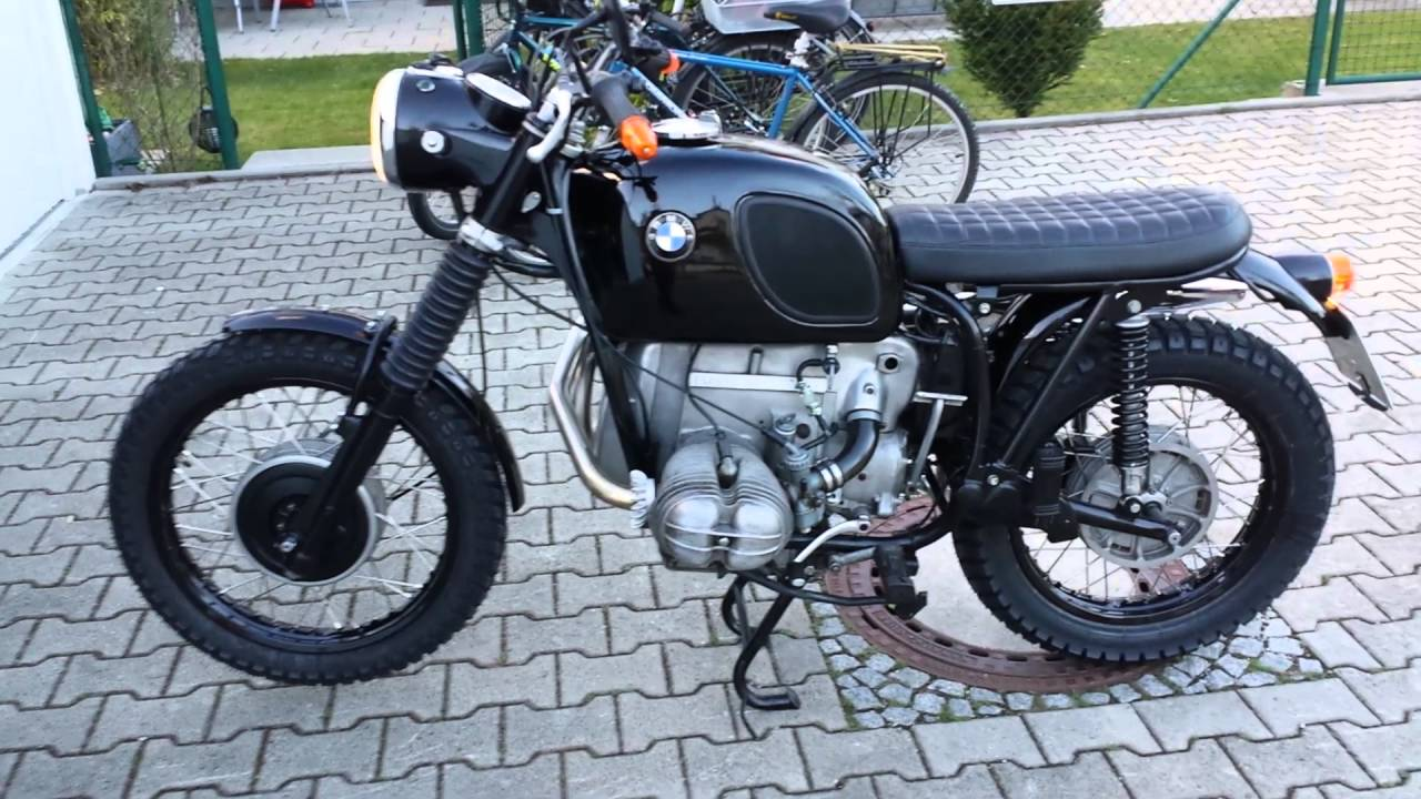 scrambler projekt bmw r 60 5 1973 youtube. Black Bedroom Furniture Sets. Home Design Ideas