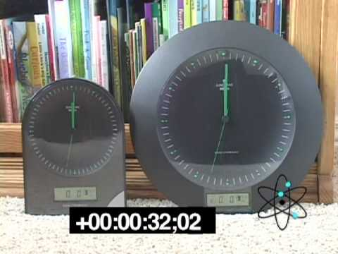 junghans mega clocks youtube. Black Bedroom Furniture Sets. Home Design Ideas