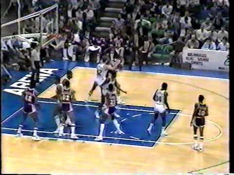 NBA Greatest Duos: Magic Johnson & Kareem Abdul-Jabbar vs Mavericks (1983)