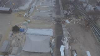 Ремонт Потемкинской лестницы - вид сверху. Часть 2
