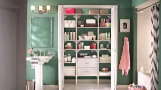 Closetmaid Diy Linen Closet U0026 Bath Systems And Solutions