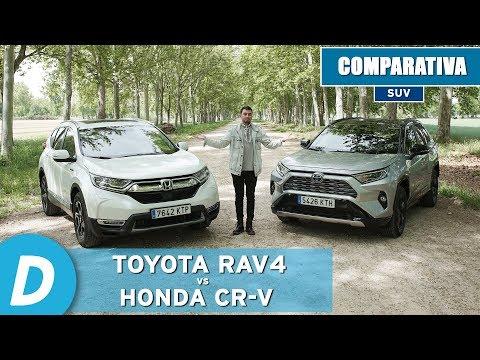 comparativa-suv:-toyota-rav4-hybrid-2019-vs-honda-cr-v-hybrid-2019-|-diariomotor