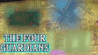Breath of the Wild - THE 4 GODLY GUARDIANS!