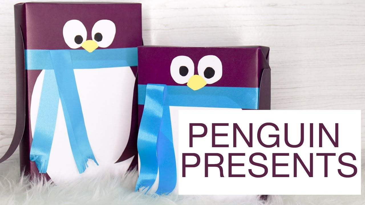 Penguin Presents Diy Gift Wrapping The Sunday Project Youtube