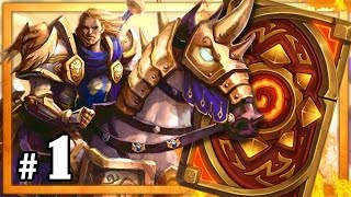Hearthstone: Road to Legend Rank 1 - Part 1 (Paladin Constructed)