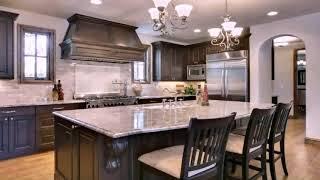 White Kitchen Cabinets With Azul Platino Granite Youtube