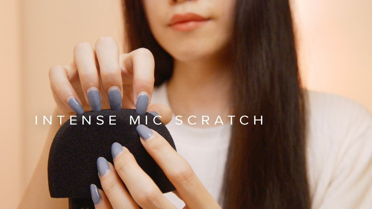Asmr Intense Rough Mic Scratch Using Hand Nails No Talking