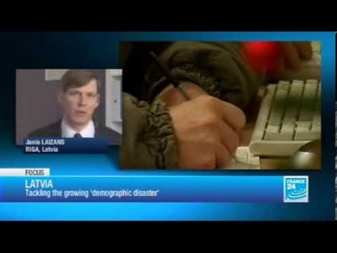 France 24 - Latvians flee country's financial crisis in search of work (2013)