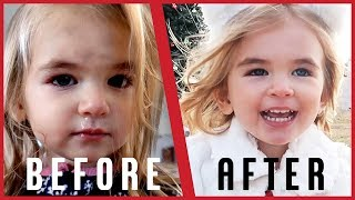 Toddler Gets Christmas Makeover!