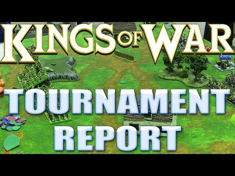 Kings of War Tournament Report - Mhorgoth's Gambit