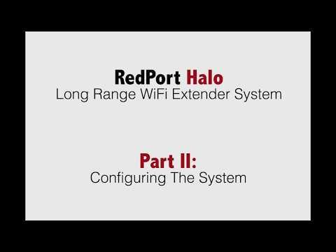 RedPort Halo Long Range WiFi Extender System — Apollo