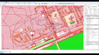 MicroGIS editor. Урок №1. Работа с групповой панелью.