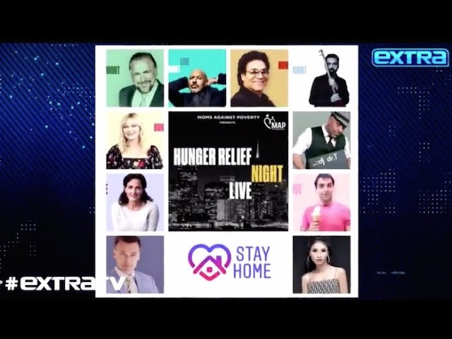 Hunger Relief HIGHLIGHTS | Moms Against Poverty Fundraiser w/ Maz Jobrani, Andy, Brian Cox and more