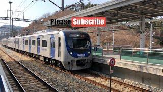 rangkaian kereta Mrt di busan korea selatan