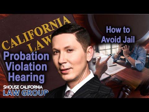 "Top ways people pick up ""Probation Violations"""