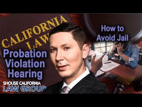 Top ways people pick up 'Probation Violations'