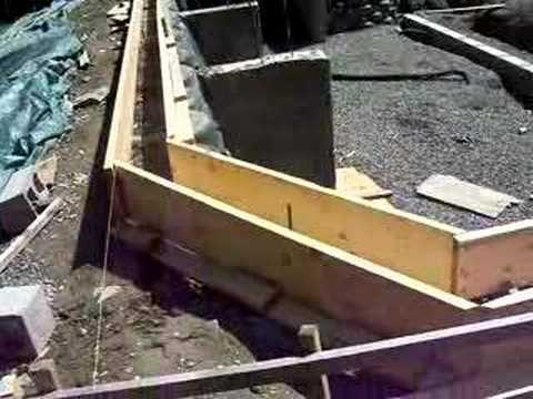 Shawn explains the bond beam work youtube - Fibreglass swimming pool bond beam ...