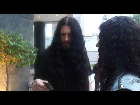 Message from Sharlee D'angelo from Arch Enemy to Exmera and Metalhead