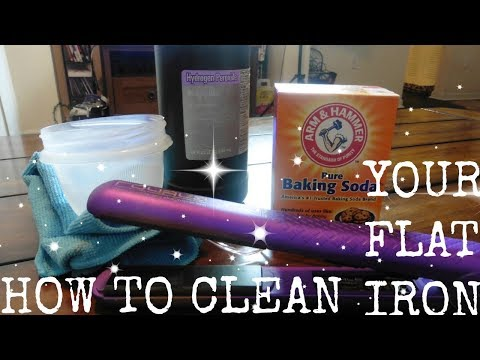 HOW TO CLEAN YOUR FLAT IRON /DIY / Tips for your hair straightener