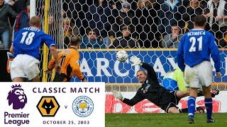 Premier League Classic Match: Wolves v. Leicester City 2003/04 I Greatest comebacks in PL history