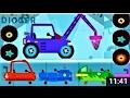 МАШИНКИ #Мультики для Детей. Веселые #Динозаврики Собираем Машинки Видео. #Мультфильмы 2017 Новинки
