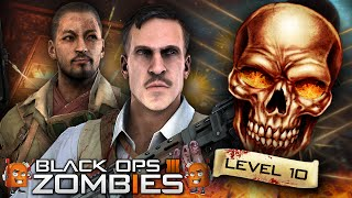 Black Ops 3 Zombies | Ranking System EXPLAINED! / Zombie PRESTIGES + REWARDS (Level Up BO3 Zombies)