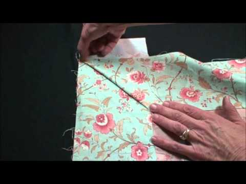 How to miter a Quilt Border