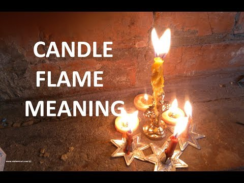 Candle Flame Meaning & Candle Fire Interpretation For Magic Spells. Candle Reading