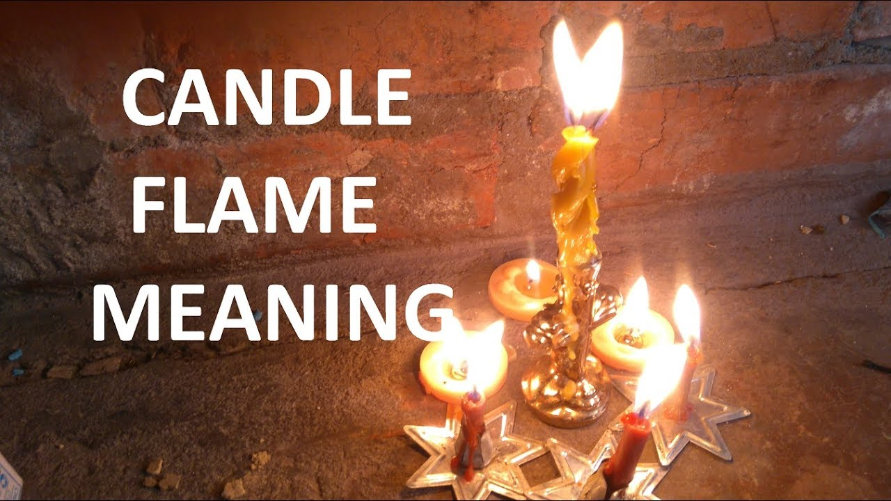 Candle flame meaning & Candle fire interpretation for ...