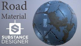 Substance Designer - Road Material