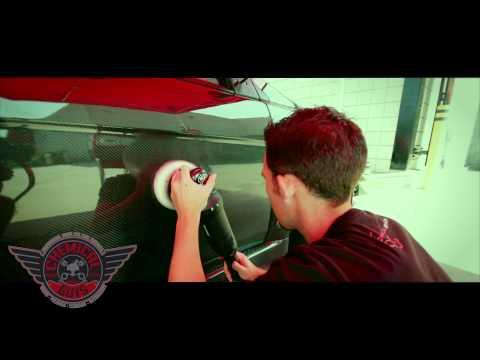 How To: Polishing Carbon Fiber - Chemical Guys Rupes LHR15ES Polisher Mitsubishi Evolution