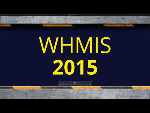 WHMIS 2015 - ACSA