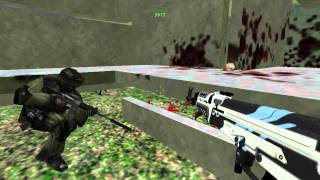 Counter-Strike 1.6: Zombie Base Builder - Camp Tunnel Base (Rozforever Base of the Month - August)