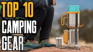 Top 10 Outdoor Camping Gear [2019] You Must Own!